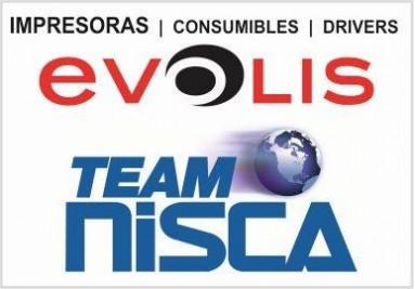 Impresoras Evolis, consumibles Evolis, Drivers impresoras Evolis, NISCA, impresoras NISCA