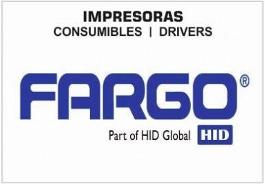 Impresoras de tarjetas fargo, Drivers, Consumibles