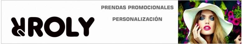 Personalización de prendas Roly. Ropa promocional